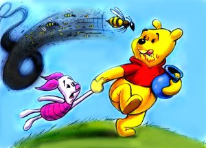 winnie_the_pooh_and_bees_by_zdrer456-d37no78
