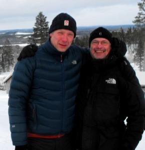 """Vår rottis Gunvald Larssons """"dopfader"""" med Seth"""