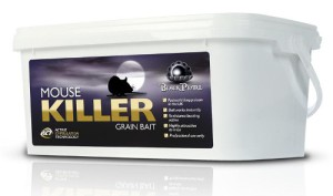 Black Pearl Mouse Killer - as an example of products on the market - containing alfakloralos