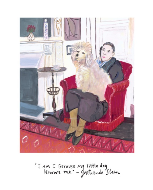From the book Beloved Dog by Maira Kalman