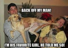 dog back off